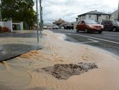 A BURST water main in Laidley is affecting the town's water supply.
