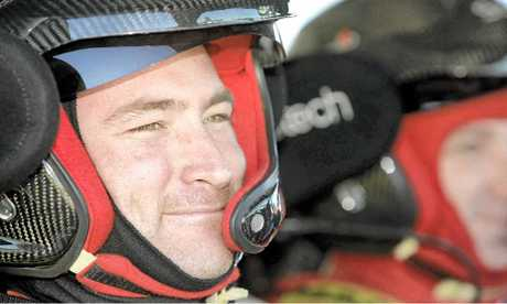 Despite winning the Australian Rally Championship in 2010 and 2011, Yandina's Ryan Smart does not have a drive this year.