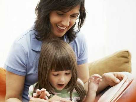 DELIGHT: Children love to read and hear others read to them.