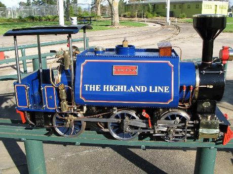 "TINY RIDE: Engine ""Wee Jock"" will be a part of the mini steam train festival."