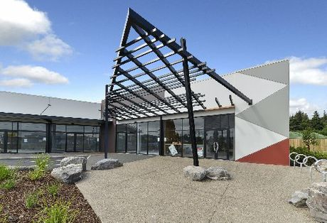 Shops are starting to open at Rotorua's newest retail complex, the Redwood Centre.