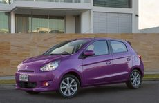 Mitsubishi's new Mirage.