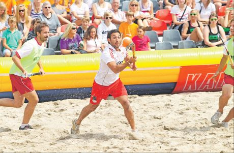 Beach hockey is a spectacular fast-paced sport that makes its New Zealand debut at Mount Maunganui's main beach on Saturday and Sunday.