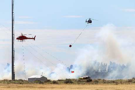 EXPENSIVE: The West Melton fire on Wednesday is likely to cost the army up to $200,000.