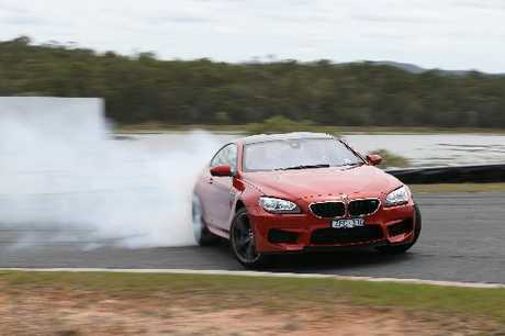 BMW M6: Dial in how you would like to drive.