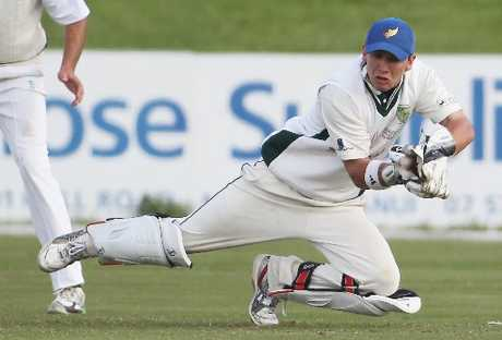 BOP keeper Tim Clarke scored 83 to help Mount Maunganui through to the final of the ND club championship.