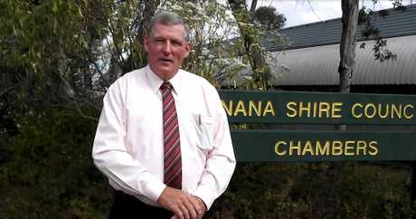 FINGERS CROSSED: Banana Shire Mayor Ron Carige hopes both projects shortlisted for the Royalties for the Region program receive the vital funding.