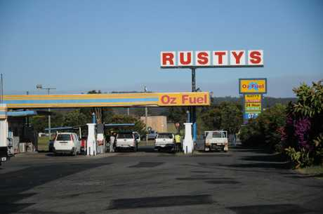 The Warrego Highway is closed at Rusty's Roadhouse, Hattonvale, following a crash involving two B-doubles.
