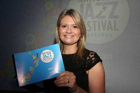 New Tauranga National Jazz Festival director Rebecca Chambers is looking forward to this year's more local, family-friendly event.