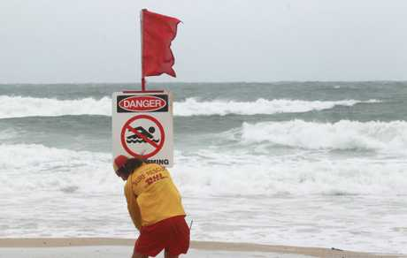 Most Sunshine Coast beaches remain closed today.