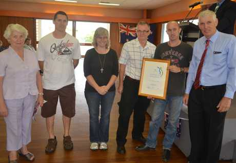 THE Maranoa Combined Christian Churches have won the Australia Day Regional Achievement Award for their overwhelming presence in the 2012 floods.