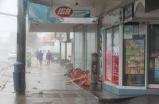 Ex Tropical Cyclone Oswald makes its presence felt on the Sunshine Coast.