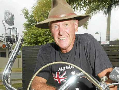 TRUE BLUE: Peregian Springs' James Breeze, a Vietnam veteran, is one very proud Aussie.