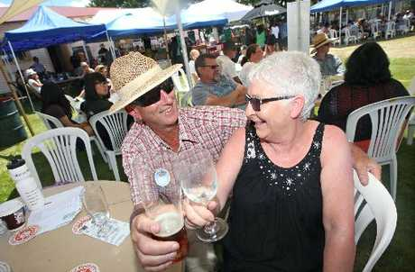 REGULAR ATTENDEES: Rhythm Rotorua is becoming an annual fixture for Nancy and Stuart Collins. This year was the second the couple had been to the event and they were already looking forward to next year.