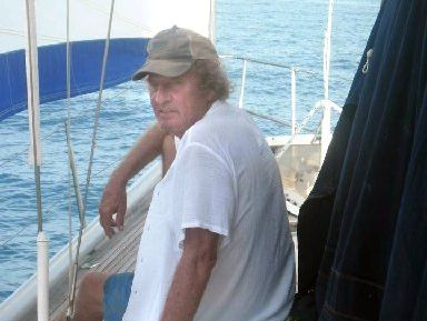 EXPERIENCED SAILOR: Bay man Richard Spraggs drowned in Thailand while trying to push away another boat during a storm.