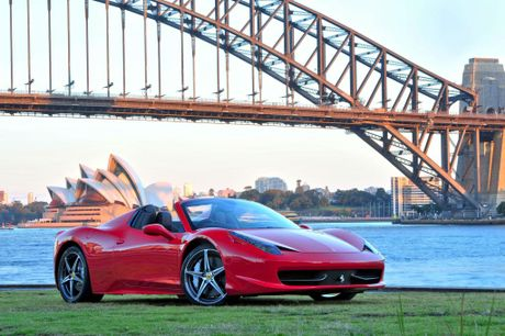 Ferrari's 458 Spider has more than 50 awards worldwide.