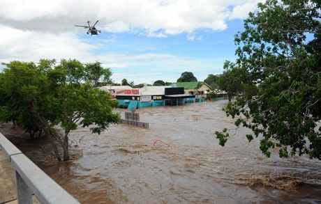 A scene of absolute devastation at North Bundaberg Today. The photo was taken by NewsMail photographer Max Fleet. 