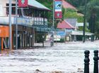 FLOODING in parts of Laidley reached higher peaks on Monday than in the 2011 floods, according to Lockyer Valley Regional Council mayor Steve Jones.