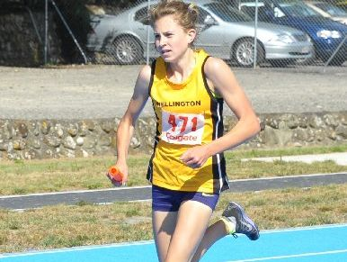 PROLIFIC POINTS: Alison Andrews-Paul clocked a personal best over 400m on her way to earning most points in age group.