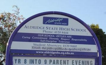 Aldridge State High School is among those that will open on Wednesday after closing for the first day thanks to the flood crisis.