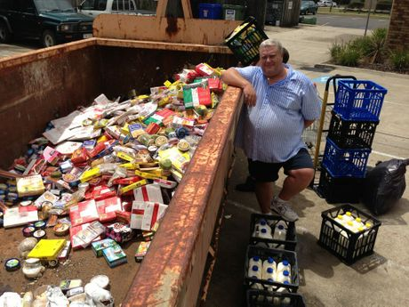 Cotton Tree Foodworks owner Darren Coultan had to throw away thousands of dollars worth of food from the fridge and freezer as the power outage causes business chaos across the Sunshine Coast.