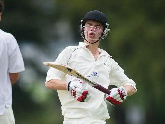 TIDY KNOCK: Henry Hunter opened with aplomb, scoring 68 runs.