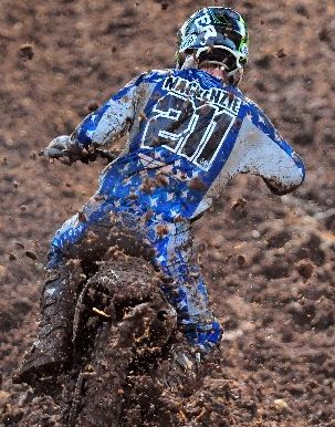 Former Grand Prix racer, Scottish motocross star Billy Mackenzie, of the JCR Yamaha Racing Team, is the one for the Kiwis to beat in the New Zealand Motocross Championships this summer.