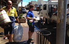 Lockyer Valley Regional Council crews have been mobilised this morning and are out and about helping with the clean-up in Laidley.