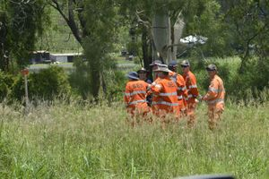 SES volunteers located the body yesterday of Jerry Yukun at Sandy Creek.