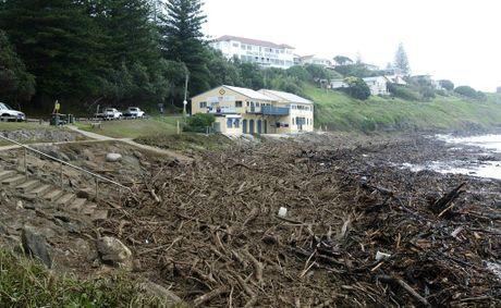 Flood debris yamba