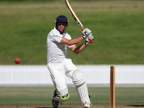 Greerton allrounder Brett Hampton hit a new Bay of plenty record score of 196 against Hamilton. Photo / File