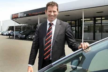 GOOD YEAR: Honda Cars used car manager Mark Webster attributes their increased sales to a change in mentality since the earthquakes.