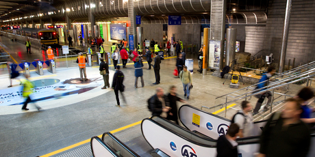 Auckland Transport intends doubling - for a second time in just over two months - its penalty fare for rail users caught without a valid ticket or tagged-on Hop card.