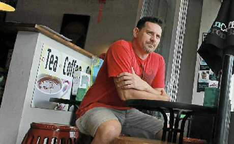 Peregian cafe owner Kirk Edington is upset at the rates