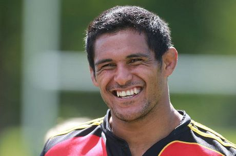 Tanerau Latimer is a key player in the Chiefs team that kicks off the pre-season campaign against the Highlanders in Taupo on Saturday. Photo / John Borren