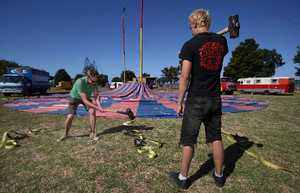 Western Bay locals will be treated to a circus extravaganza filled with aerial stunts, balancing acts and a whole lot of laughs.