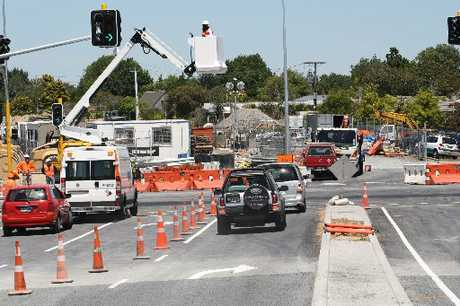 The junction of the Hamilton ring road - Wairere Dr extension with Ruakura Rd opened this week.