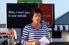 Barbara McKelvie of Eskdale lost her bid to have a Tui billboard in Pandora deemed distasteful. Photo / Duncan Brown