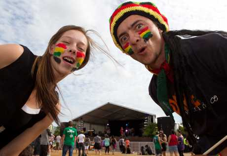 DREAM COME TRUE: Napier siblings Ray and Morgan Alpin are looking forward to their first Raggamuffin Festival.