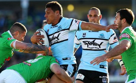 Anthony Tupou of the Sharks.