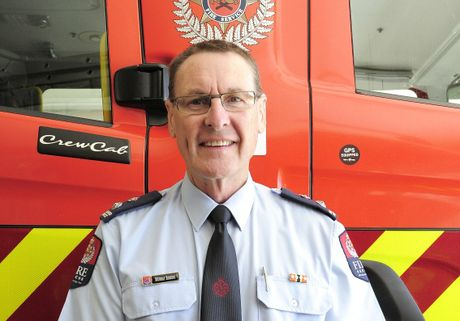 Murray Binning has just taken over the role of New Zealand Fire Service Bay of Plenty Coast area manager.