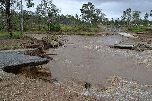 Ivory Creek Road Toogoolawah. Photo: Contributed