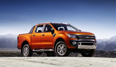 The Ford Ranger Wildtrak.