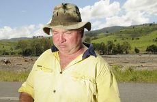 Peter Coleman talks about the flooding that has wiped out farms in the Mt Sylvia area.