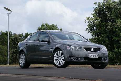Commodore's Z-series has 18-inch alloys, reversing radar/camera, leather upholstery, rear spoiler and chrome exterior detailing. Photos / David Linklater