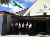 The high school Sir Paul Holmes' attended as a teenager in Hawke's Bay has lowered its flag to half mast following his death this morning.