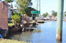 FLOOD DAMAGE: Queen st North Bundaberg. Photo: Scottie Simmonds / NewsMail