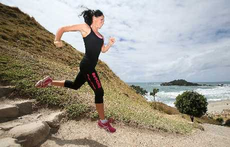 Marianne O'Neill runs twice daily bootcamps in the Mount.
