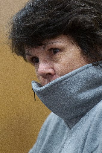 Gwenda Sloane in Rotorua District Court for sentencing.
