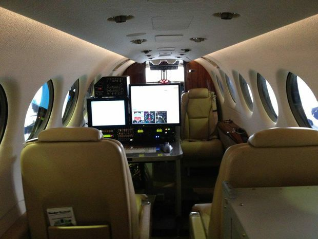 The Beechcraft aircraft are fitted with AeroData flight inspection mission systems.